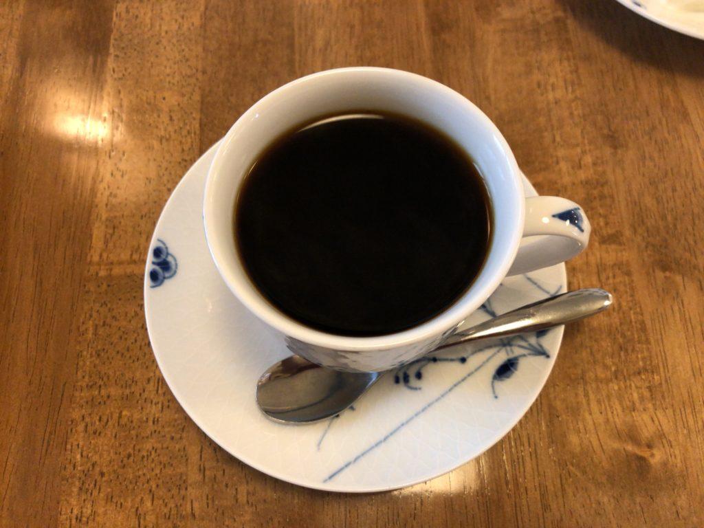 自家焙煎珈琲バーガンディのコーヒー