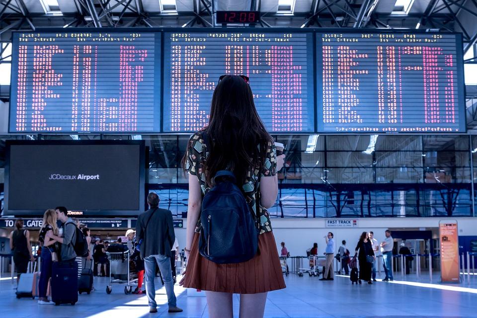 世界中へ旅立てる空港玄関