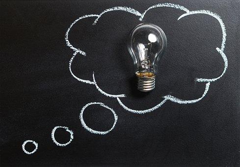 アイディア、思いつき、ひらめき
