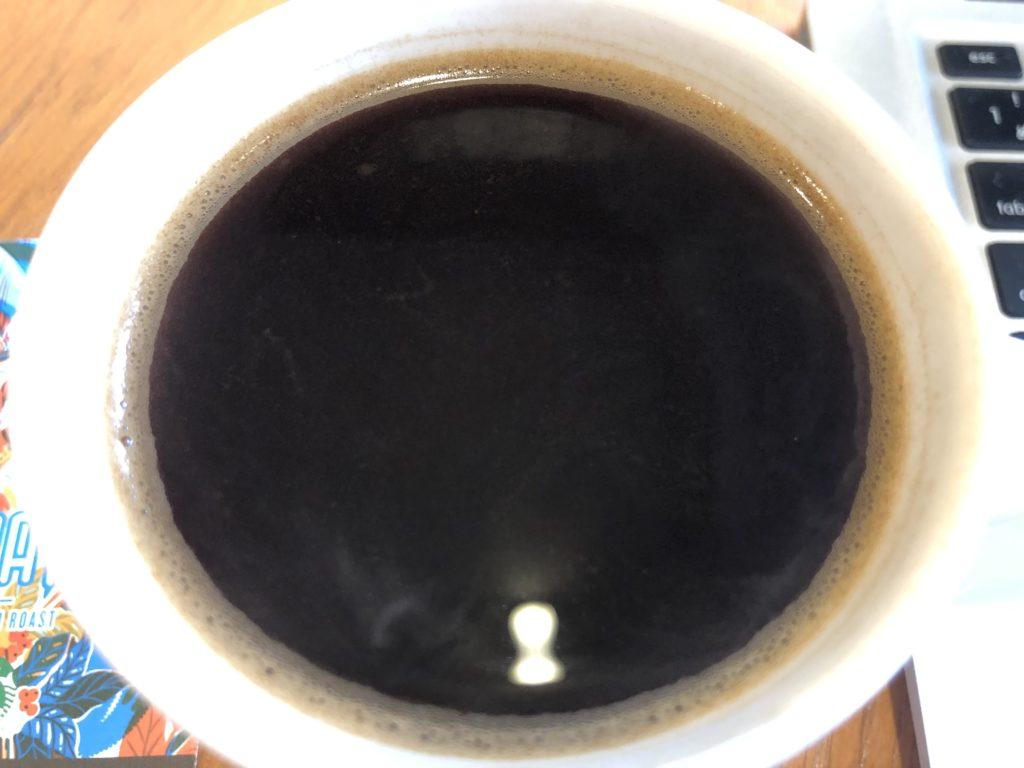 スターバックスコーヒーのスマトラミディアムローストコーヒーの油分