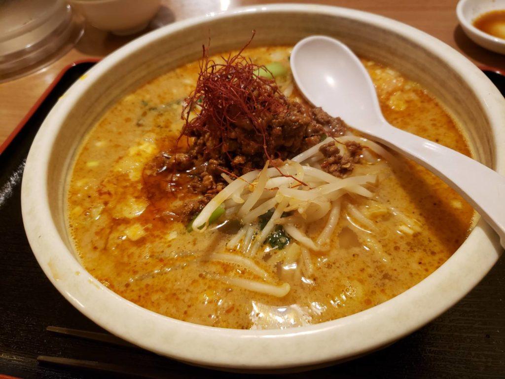 揚子江の担々麵