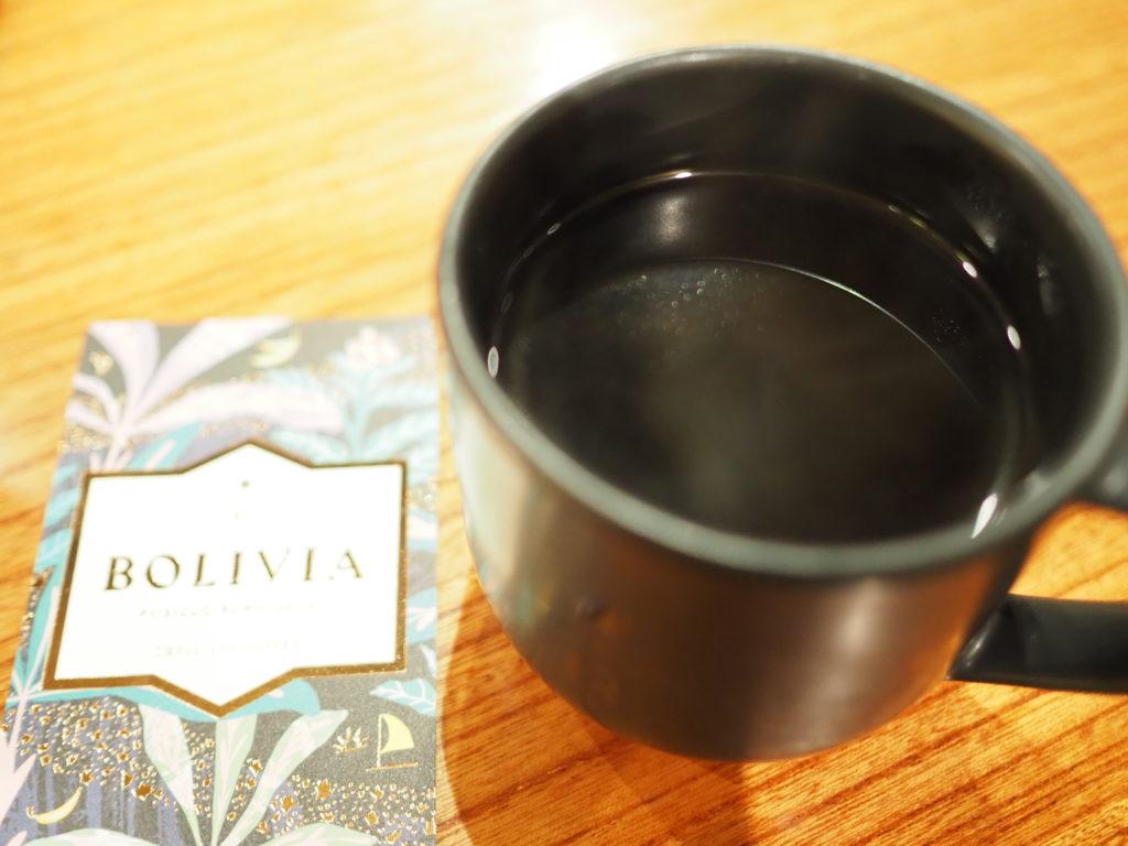 スターバックスリザーブコーヒーのボリビアクシロファームジャバ2
