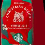 スターバックスコーヒーのクリスマスブレンドパッケージ