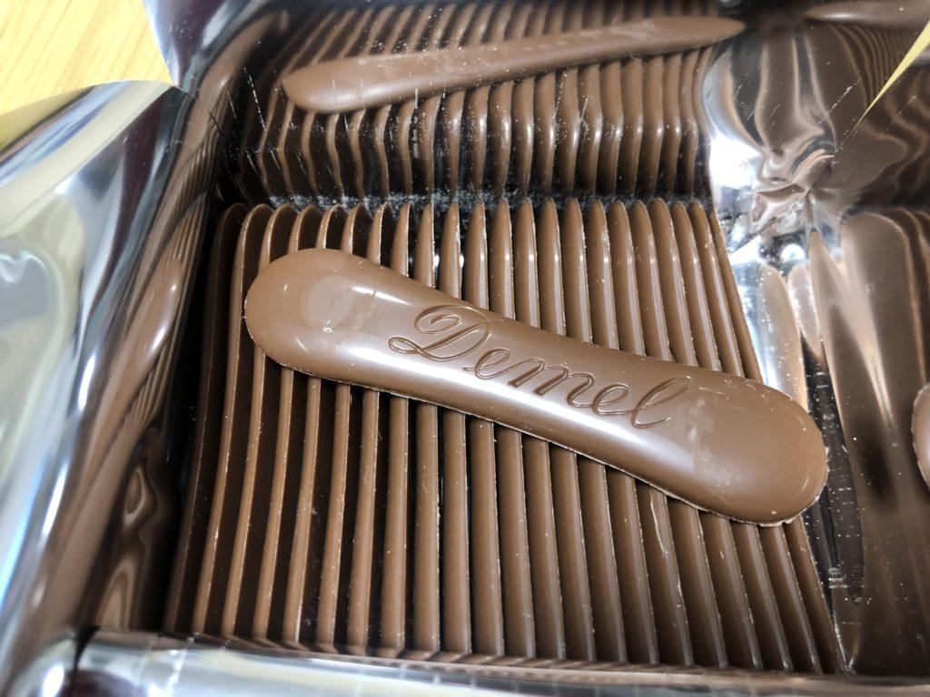 DEMEL(デメル)のミルクチョコレート3