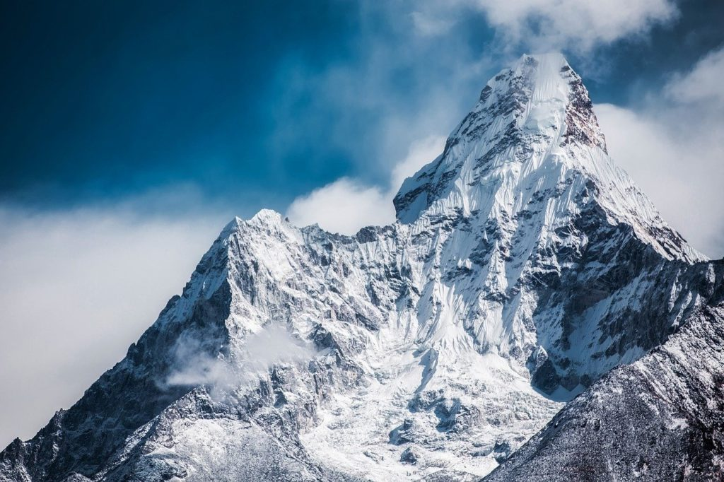 過酷な雪山